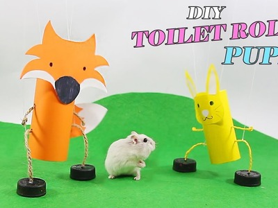 DIY Craft Puppet- Best Life Hacks With Toilet Paper Rolls