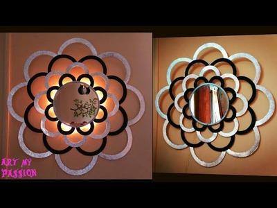 DIY Mirror Wall Decor | DIY Wall Hanging | DIY Wall Decor | Home Decorating ideas | artmypassion