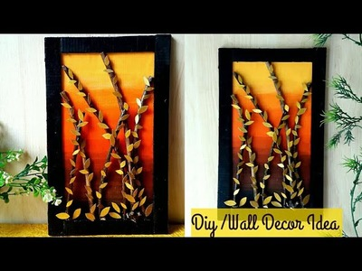 DIY Wall Decor | Home decor ideas | Diy Wall Hanging Craft Idea| #bestoutofwaste | coloursCreativity