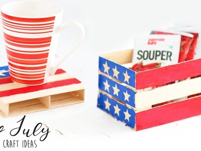Easy 4th July - Independence Day  Craft Ideas |  Summer Craft Ideas