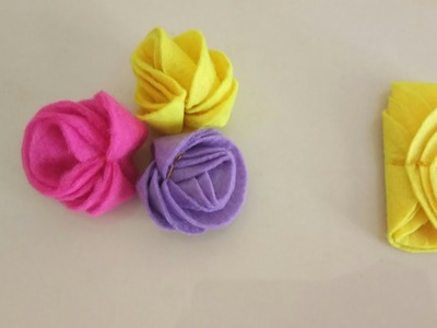 Easy way to make flowers.diy flower making technique.easy craft idea