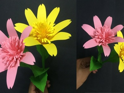 How to Make Beautiful Paper Flower