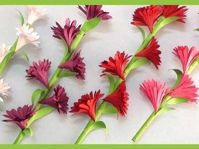 How To Make Paper Flowers | DIY Paper Craft Tutorials