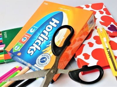 How To Make School Supply Organizer | Best Out Of Waste Craft | Handmade Craft