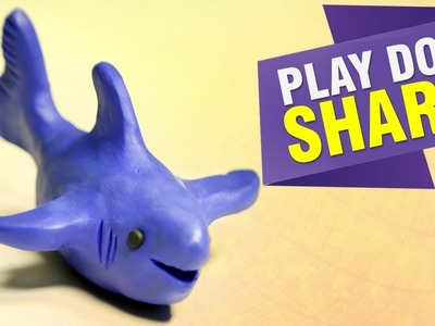 How To Make Shark With Play Doh   DIY Craft Ideas   Play Doh Learning Videos For Kids   Easy DIY