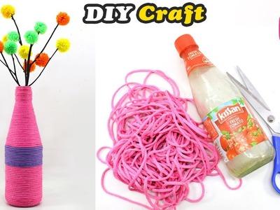 Ketchup Bottle Craft Idea   Easy DIY Craft   Home Decor 2018