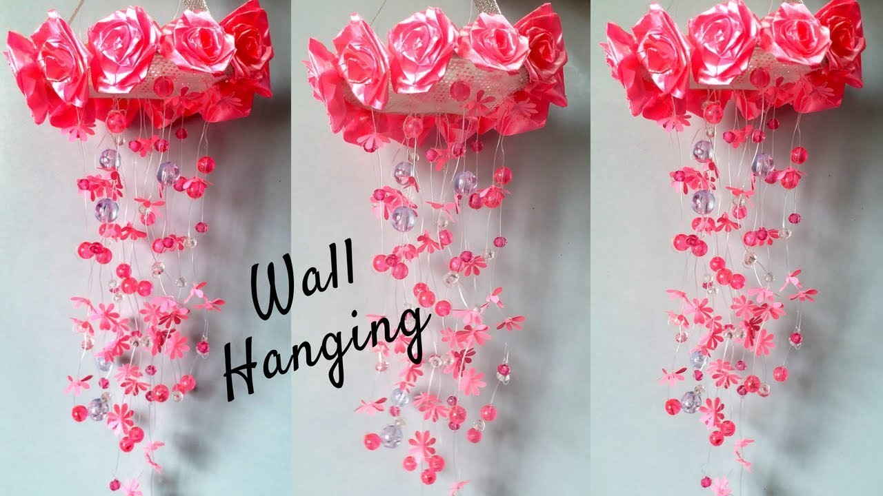New Wall Hanging Craft Ideas Diy Beautifull Wall Hanging Making At