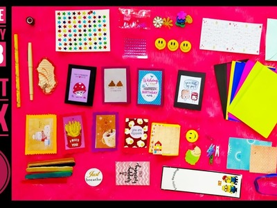 Super cute craft box at just 299  Coddle Box July   Unboxing and Review