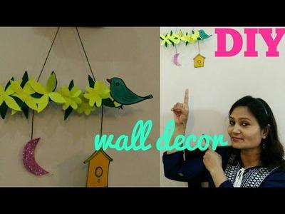 Wall decor craft,easy wall decor idea,do it yourself,#anvesha,screativity