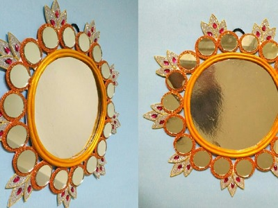 Wall Decor Idea | Unique Craft | Low Budget Craft | By Punekar Sneha