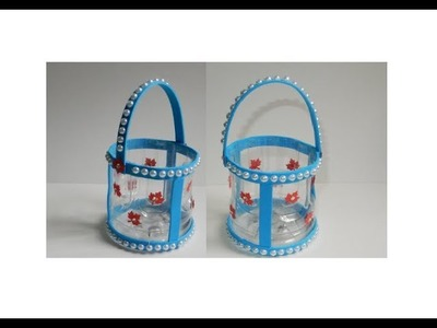 Waste Plastic Bottle Craft _ Best out of waste Things
