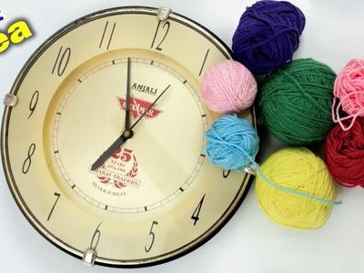 WOW !!! Wall Clock Decoration Idea || DIY Room Decoration Idea 2018 || Handmade Craft
