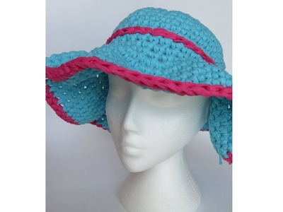 Yarn Share & Quick to Crochet Sun Hat