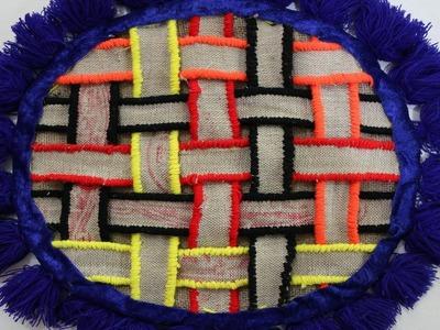 Amazing! DIY Handmade Doormats | How To Make Doormats Using Woolen & jute Rug - Doormats Making Idea