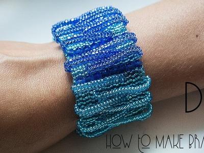 Bracelet ! How to make this stunning BRACELET ! DIY Beaded Bracelet