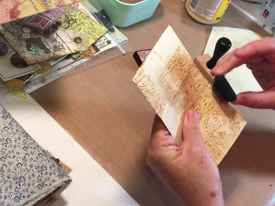 Craft with Me - TN Envelopes and Embellishing