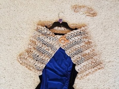 Crochet Super Fine Merino Butterfly Wings of Love Shawl DIY Video Tutorial