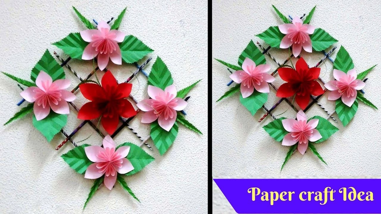 Dazzling DIY Wall Hanging Ideas With Paper