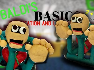 """DIY 1st prize from """"Baldi's Basics in education and learning""""! - Clay tutorial"""