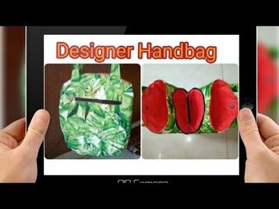 DIY : Designer Handbag Tutorial By Anamika Mishra. .