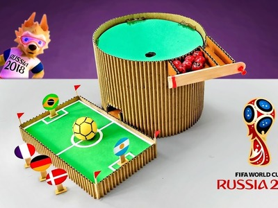 DIY Fifa World Cup 2018 Match Win Predictor Game From Cardboard DIY At Home