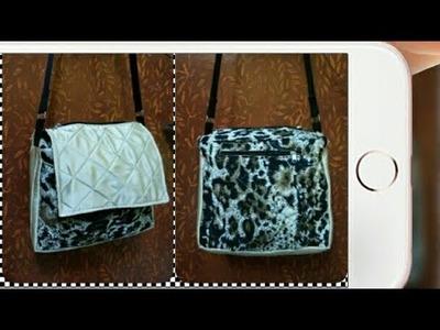 DIY : Girls Shoulder bag Tutorial By Anamika Mishra. .