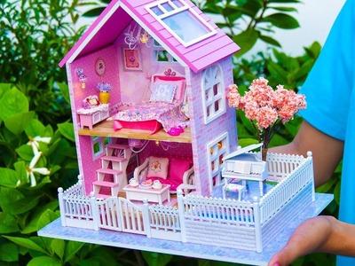 DIY Girly Miniature Dollhouse *NEW*