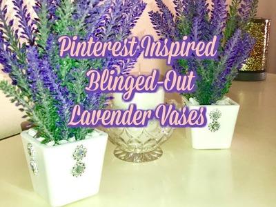 Diy How To Create Pinterest Inspired Lavender Vases
