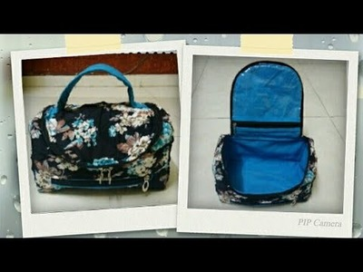 DIY: Mini Organizer Bag Tutorial By Anamika Mishra. .