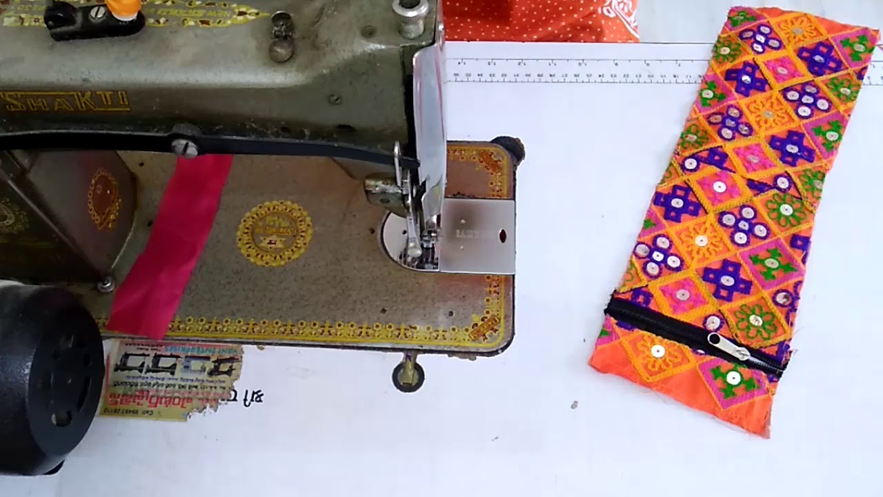 DIY New Designer Hand Pouch With Waste Cloth || How To Create Hand Pouch From Recycled Fabric