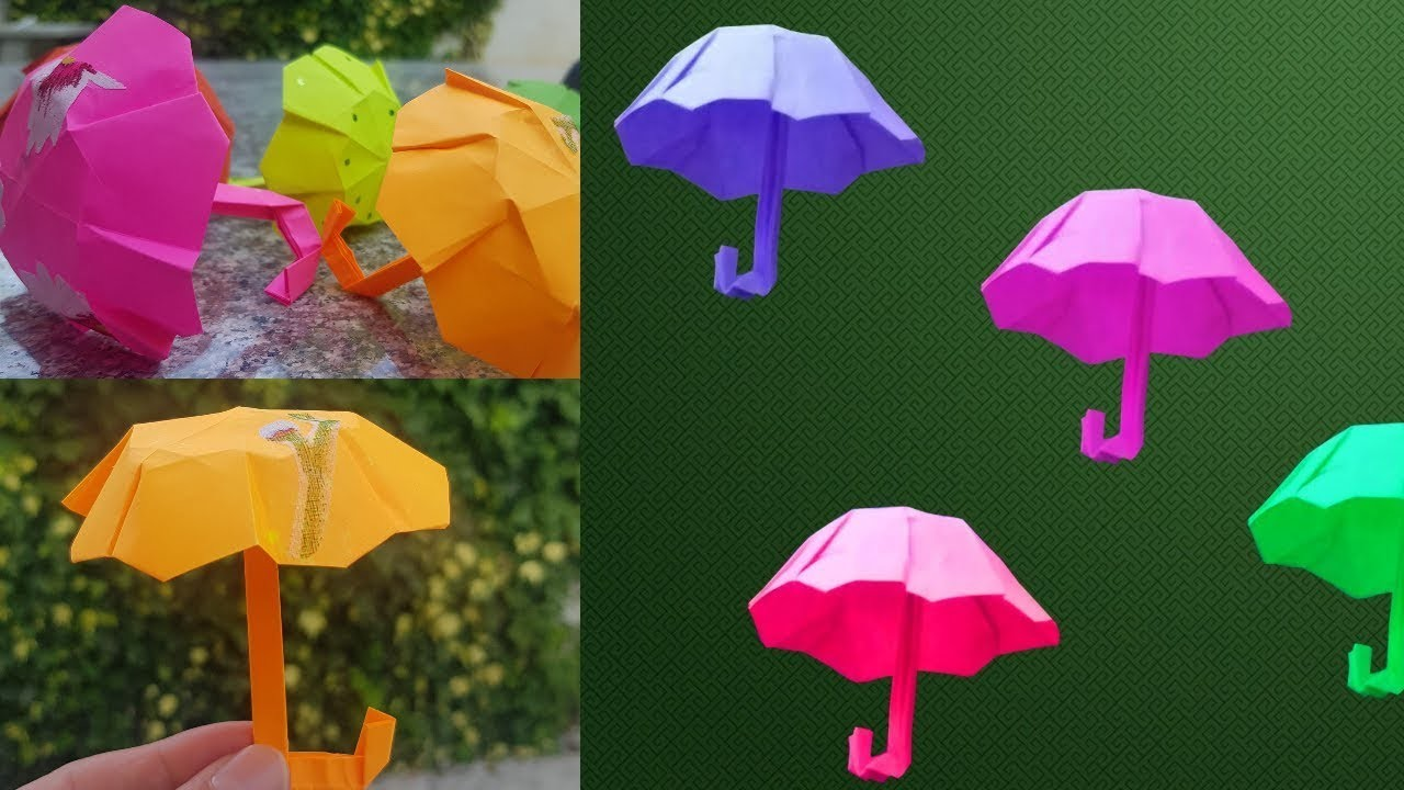 DIY Paper Umbrella Tutorial