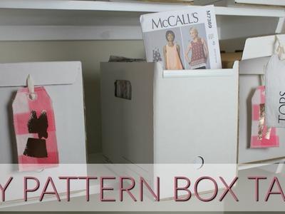 DIY Pattern Box Tags Tutorial feat. Cricut Maker