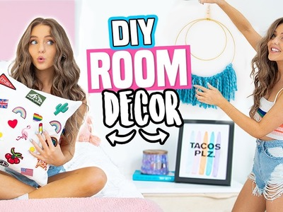 DIY ROOM DECOR IDEAS 2018! Quick + Cheap DIYs