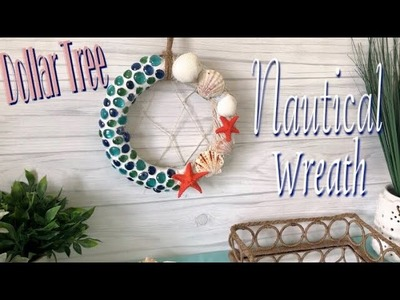 Dollar Tree DIY Wreath   Mosaic Stone Wreath