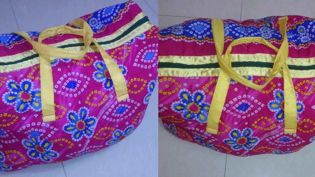 Handbag DIY | How to make handbags at home | handbag making at home