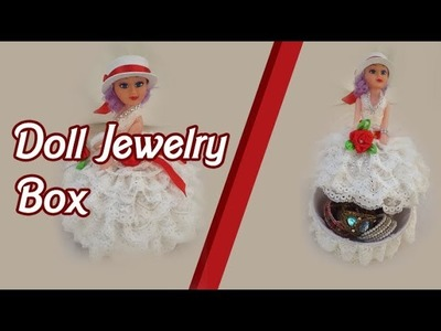 How To Make Diy Doll Jewelry Box TUTORIAL - Crafts