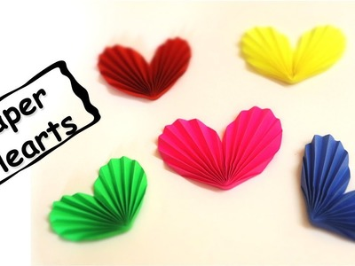 How To Make Paper Heart 3D | Easy Origami Paper Heart DIY
