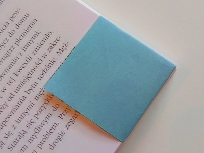 How to make SIMPLE PAPER BOOKMARK diy