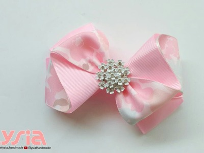 Laço Anna II ???? Ribbon Bow ???? DIY by Elysia Handmade