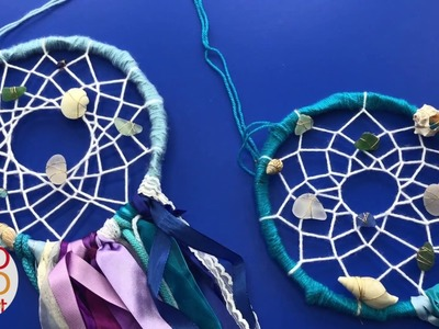 Mermaid Dreamcatcher DIY Decor