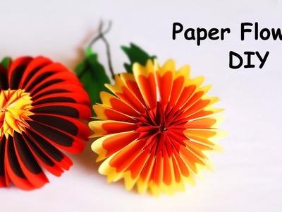 Paper Flowers DIY | Beautiful Paper Crafts | DIY Home. Room Decor