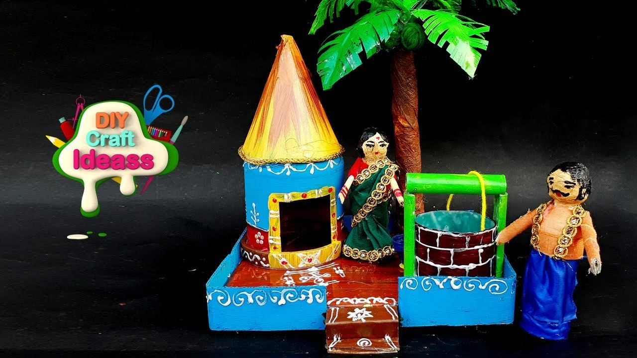 Plastic Bottles | Kondapalli Toy | Waste Bottle Recycled Material Craft |diy Craft Ideas