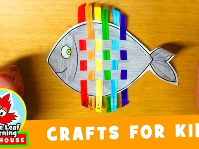 Rainbow Fish Craft for Kids | Maple Leaf Learning Playhouse
