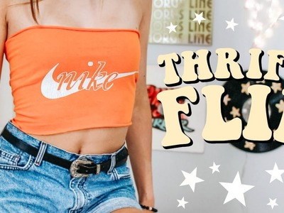 THRIFT FLIP WITH ME | diy thrifted clothes! (EP. 3)