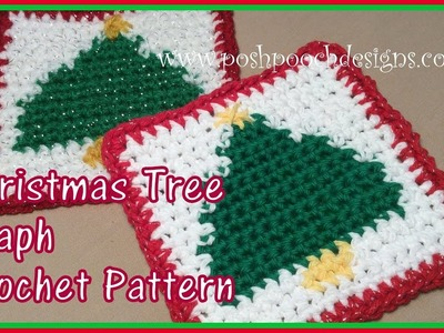 Christmas Tree Graph Crochet Pattern