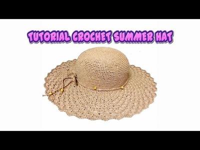 [CROCHET-2 MÓC] HOW TO CROCHET SUMMER HAT PART 1
