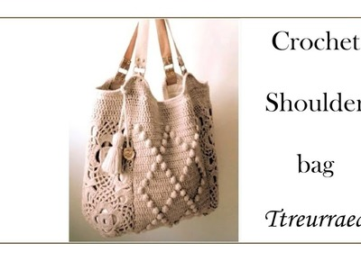 Crochet bag.how to a crochet bag (part 2)(English subtitles provided)