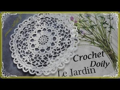Crochet  Lace Doily Pattern step by step