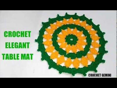 Crochet Tablemat | Vinkam | लोकरी चा रूमाल| Wool Thalposh| Crochet Thalposh | Thalpos Designs| Doily