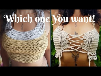 Crochet yoga top and crochet gypsy top which one You want the tutorial (Closed)